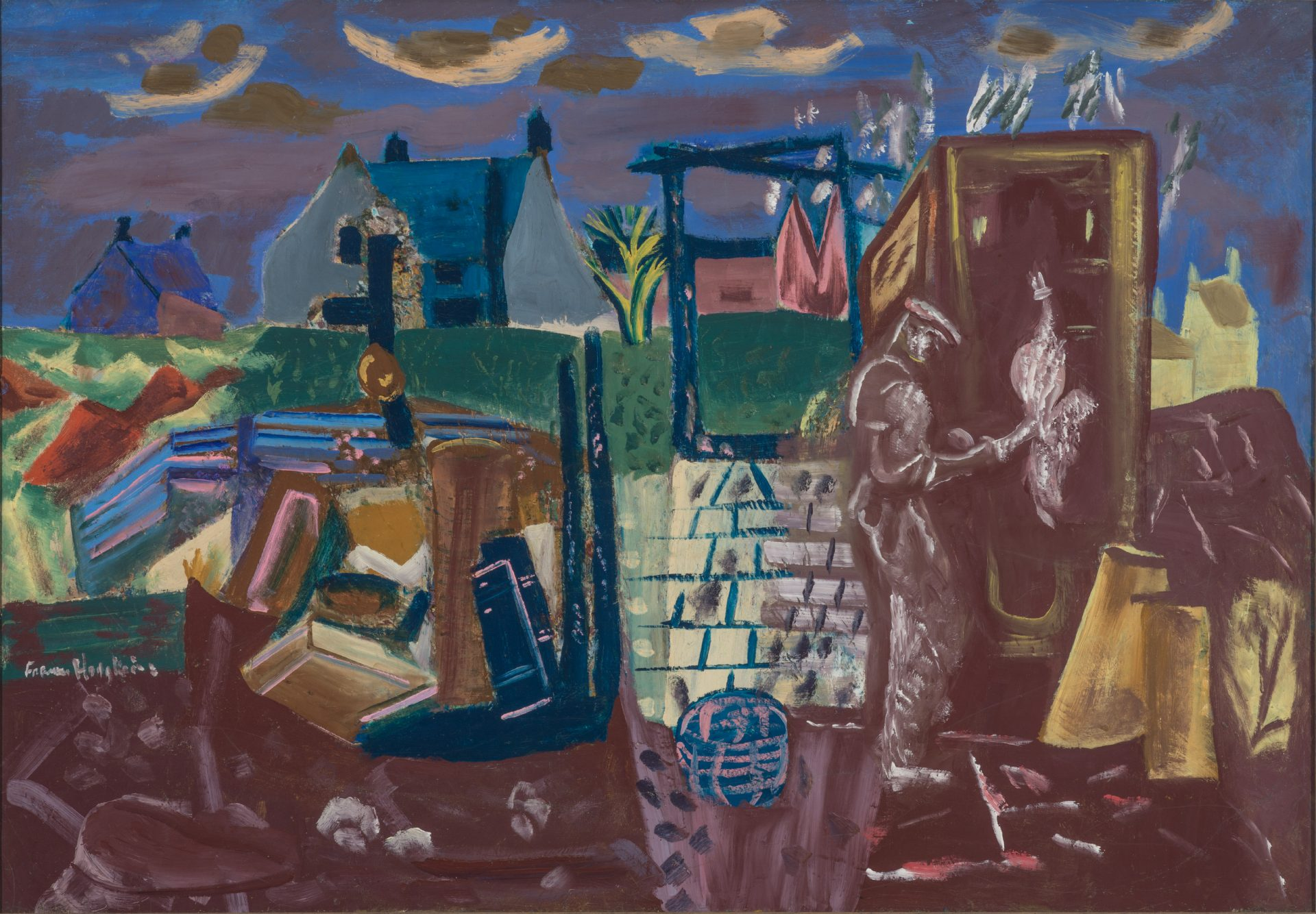 A grand tour<h3>Considering <em>Frances Hodgkins: European Journeys</em>